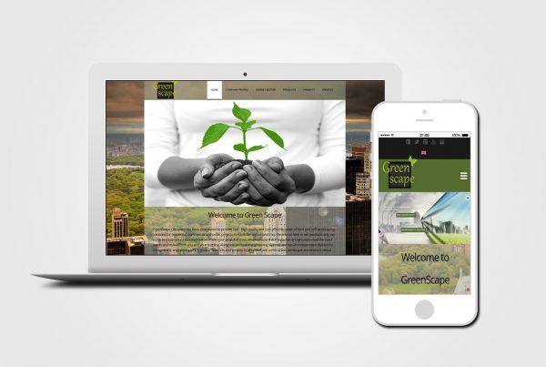 Landscape Engineering web design