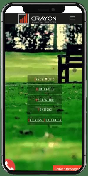 Mortgage Advisor Web Design Mobile