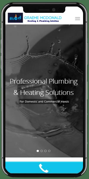 plumber web design