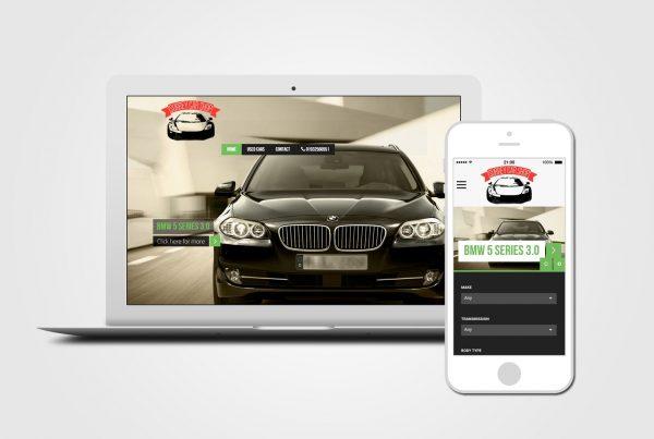 Car Dealer Web Design