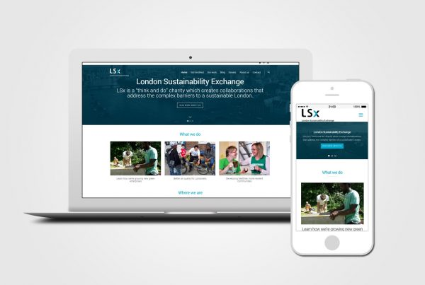 Charity web design