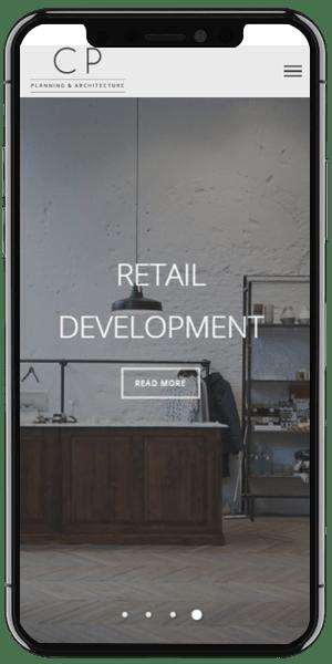 Architect Web Design mobile