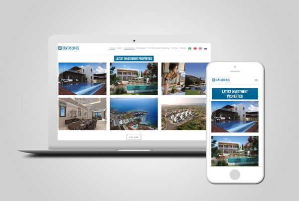 Property Investment Web Design