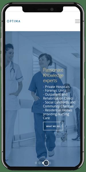 Healthcare Recruitment Web Design Mobile