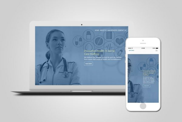 Healthcare Recruitment Web Design